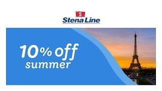 Travel to France and save 10% with Stena Line