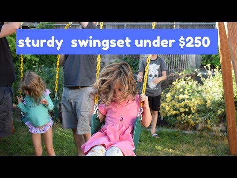 Build Your Own Wooden Swing Set for Under $250