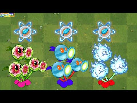 Download Plants vs Zombies 2 Max Level New Plants Power Up!  Vs 999 Zombies | Part 105 - Pvz 2 MetalVN