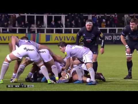Aviva 2016 17  Premiership  Round 13   Newcastle Falcons vs Bath Rugby 06 01 17