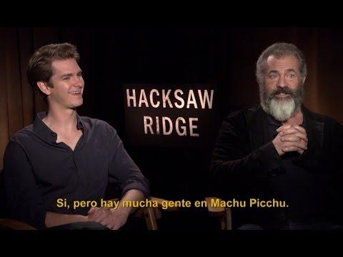 Andrew Garfield y Mel Gibson nos cuentan...