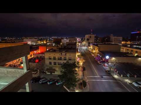 Downtown Bakersfield California Timelapse 4K