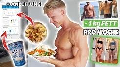 SCHNELL FETT VERLIEREN mit DIESEM SYSTEM! Full Day of Eating