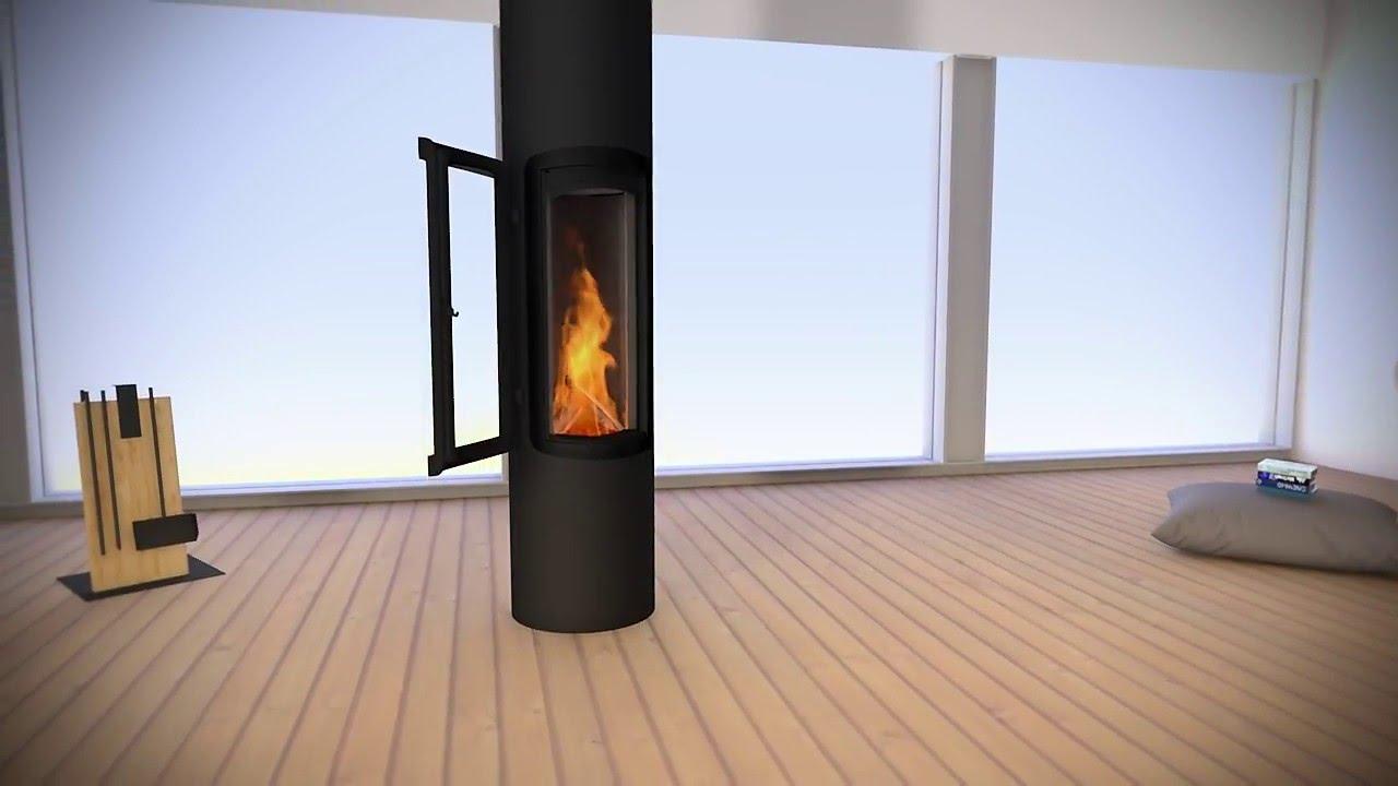 chemin e design slimfocus sur pied youtube. Black Bedroom Furniture Sets. Home Design Ideas