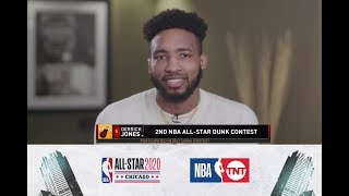 Derrick Jones Jr. Joins Tip-Off | All-Star 2020