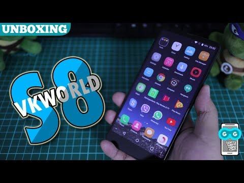 Mirip Samsung Galaxy S8 Lagi? Unboxing Vkworld S8 Indonesia