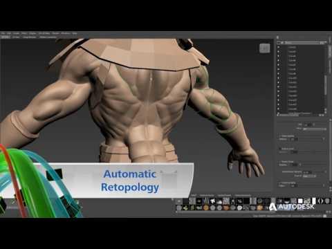 Autodesk Mudbox - Overview