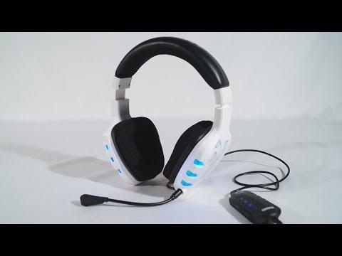 #1591 - Ozone Rage 7HX 7.1 White Gaming Headset Video Review