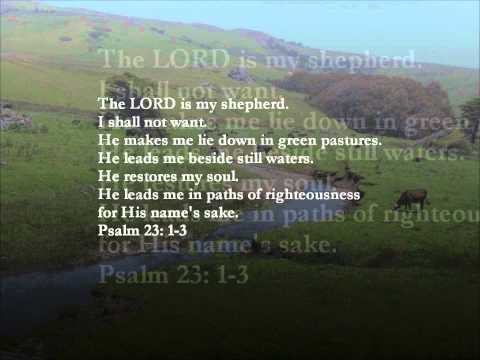 Reading of Psalm 23:1-3 - Chinese