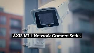 AXIS M1137-E vidéo