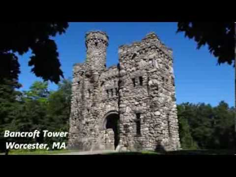 Bancroft Tower, Worcester, MA - trial flight 091713