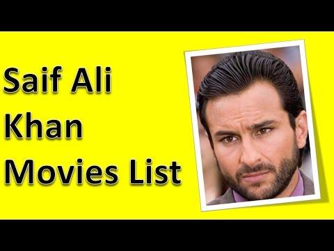 Saif Ali Khan Movies List - YouTube