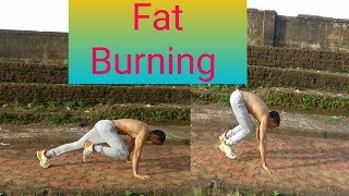 2 minutes fat burning workout in hindi - किधर भी gym, home, ground....