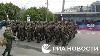 Парады Победы в Донецке и Луганске