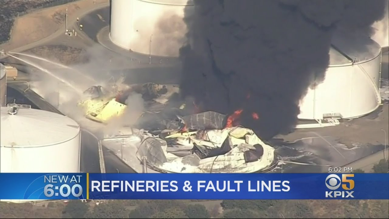 Crockett Fuel Tank Fire Raises Questions About Refineries On Fault Lines