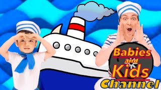 A Sailor Went to Sea | Babies and Kids Channel | Nursery Rhymes for children and toddlers