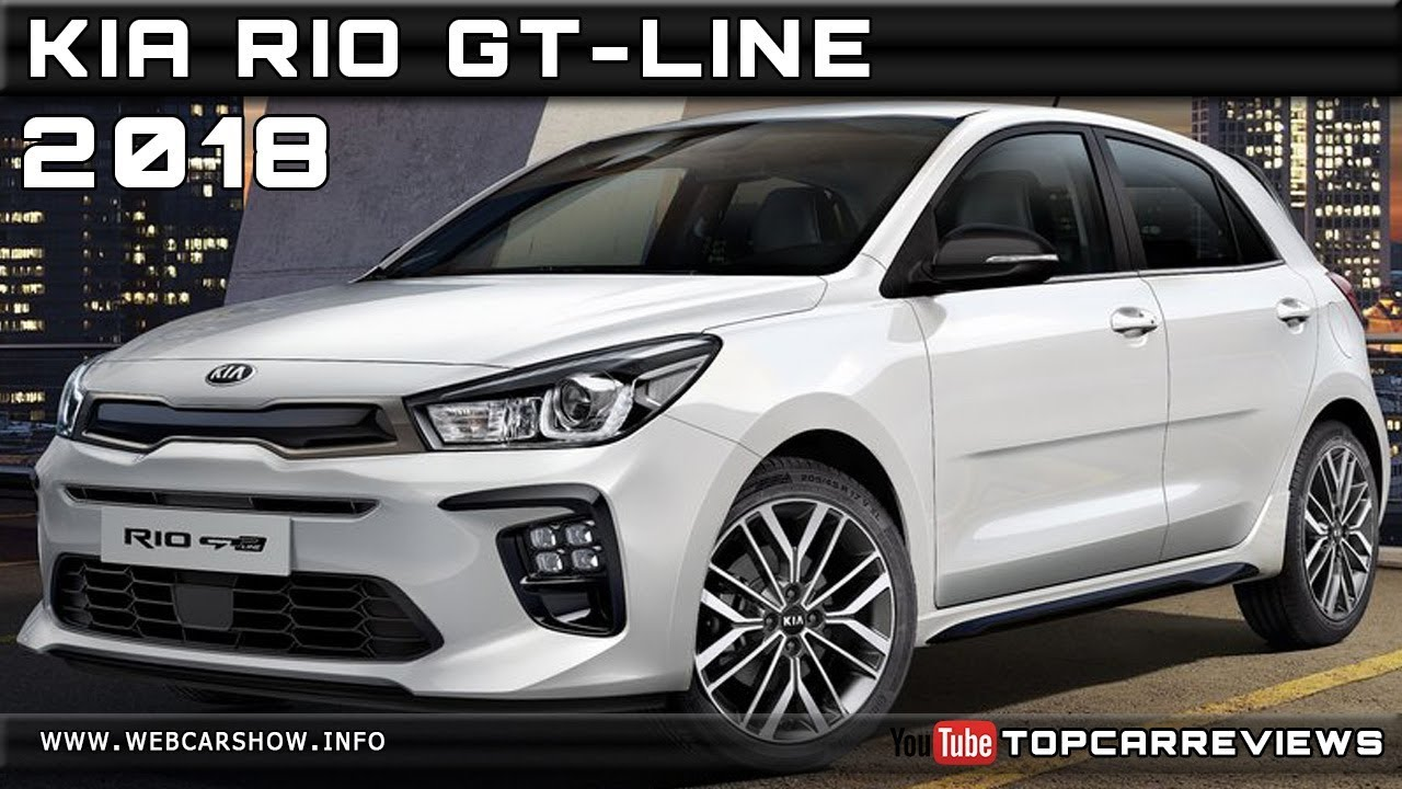2018 KIA RIO GT-LINE Review Rendered Price Specs Release ...