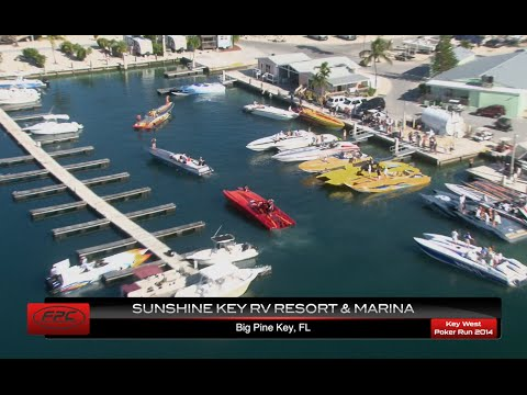 Florida Powerboat Club 2014 Key West Poker Run Segment 3 - Sunset Key Marina
