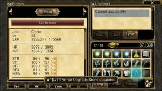 EXTRACT AND REFINER ARMOR OR WEAPON AURCUS ONLINE