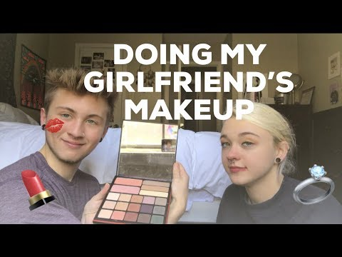 DOING MY GIRLFRIEND'S MAKEUP thumbnail