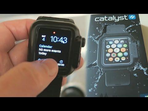 purchase cheap 6e5d7 b8456 Waterproof Apple Watch Case Review - YouTube