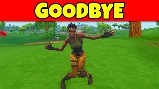 they are removing the default dance from fortnite... (super sad)
