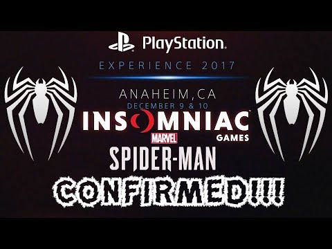 INSOMNIAC GAMES CONFIRMED TO ATTEND PSX 2017!!! Possible Spider-Man PS4 Trailer and/or Release Date?