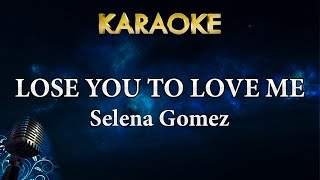 Selena gomez - lose you to love me | karaoke lyrics instrumental for more songs with subscribe megakaraokesongs: http://...