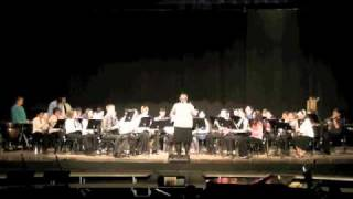 concert band  music from glee