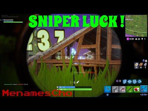 Menamescho's - Sniper Luck - New Clip