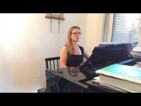 Da, chas nastal - The Maid of Orleans - Tchaikovsky - Accompaniment