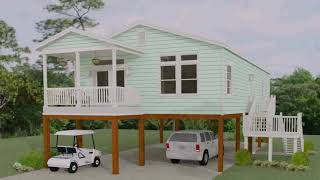 Manufactured Home Remodel Exterior