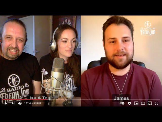 Radio FreakJam Episode 66 - Co-host James Dixon