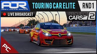 Project CARS 2 | AOR PC Touring Car Elite League - Season 1 - Round 1 - Watkins Glen Short