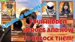 Fortnite PVE STW Comment obtenir forgé Fate Dark Vanguard Conqueror Magnus Overtaker Hiro