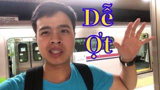 Cách đi tàu điện ở Nhật - Cuộc sống Nhật Bản - Muti Vlog
