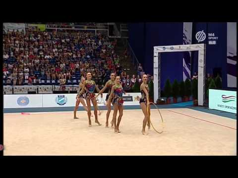 Russia 6 Clubs + 2 Hoops EF 2015 Budapest World Cup (HD)