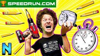 We Attempted The World's Dumbest Speedrun