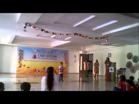Independence day speech for kids by 5 Yr old Abhimanyu Acharya during India's Independence Day 2015