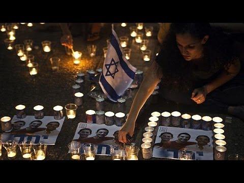 Israelis mourn asteens'bodiesfound