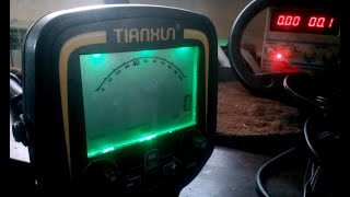 Tianxun TX-850 как замерять рабочую частоту металлоискателя