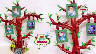 3 Photo Frame Diy Ideas | Handmade Picture Frame Making At Home  | Tree model newspaper photo frame