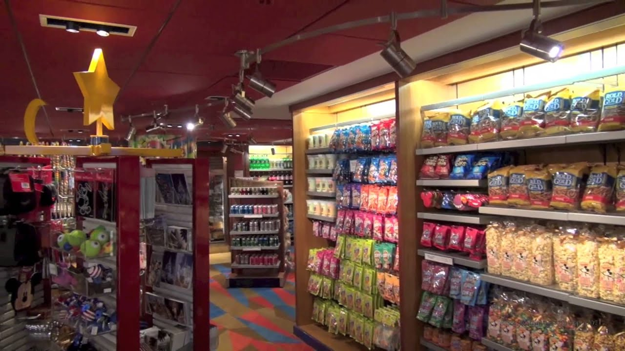 Fantasia Shop and Fantasia Market at Disney's Contemporary Resort ...