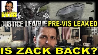 JUSTICE LEAGUE Pre-Visuals Leaked!  Is Zack Snyder Back At Work?