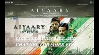 Aiyaary (2018) Movie Trailer & Review - Suspense, Thriller & ...