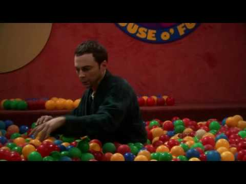The Big Bang Theory - Sheldon in the Ball Pit