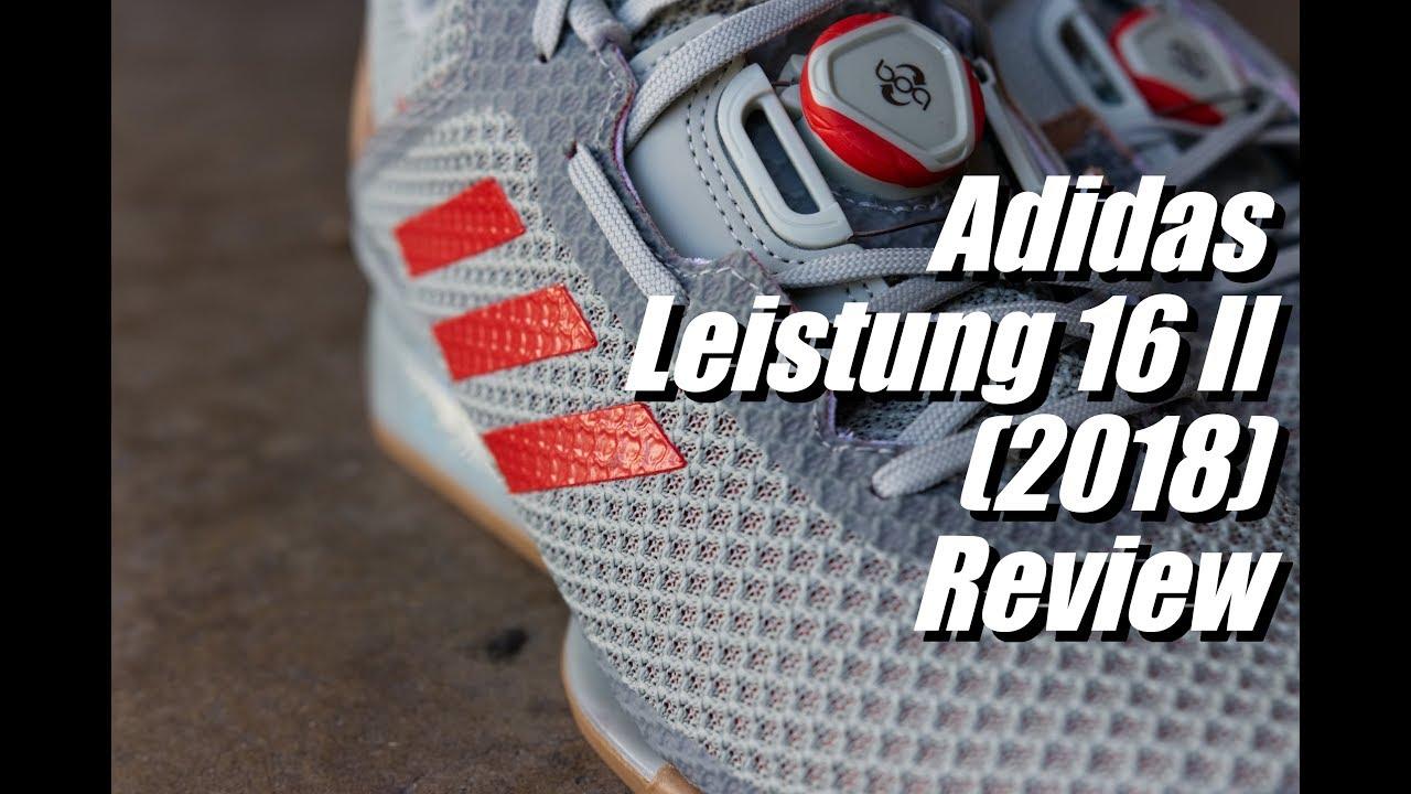 Adidas Leistung 16 II Review (2018 Update) youtube