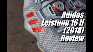 Adidas Leistung 16 II Review (2018 Update)