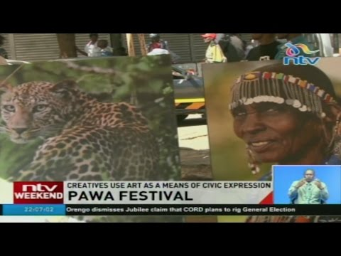 Pawa festival: Creatives use art as a means of civic expression