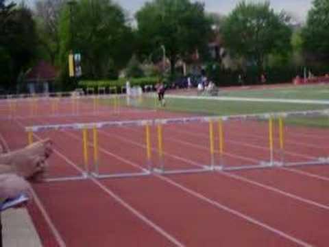 300 Hurdles- JR sectional champ